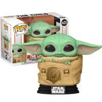 Baby Yoda in Bag - Mandalorian