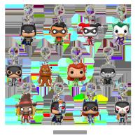 DC Batman přívesky na klíče - Blindbox