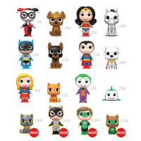DC Heroes a Mazlíčci - Blindbox HOTTOPIC