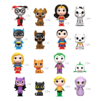 DC Heroes a Mazlíčci - Blindbox