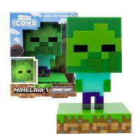Minecraft 3D lampa Zombie