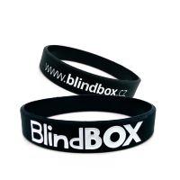 Silicone wristband Premium - Black