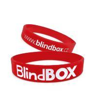Silicone wristband Premium - Red