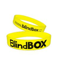Silicone wristband Premium - Yellow