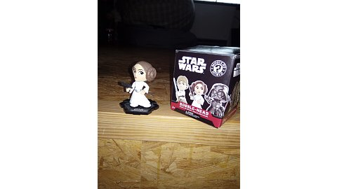 Leia Organa bobble head