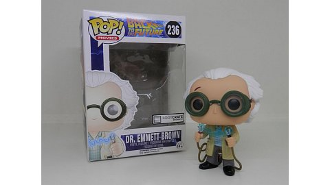 236 Dr. Emmett Brown (Back to the Future) Loot Crate Exclusive