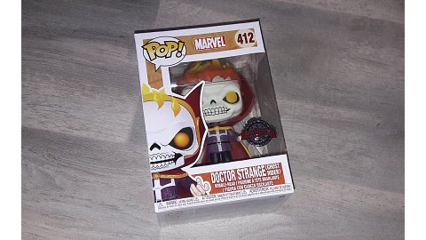 Funko PoP! 412 Doctor Strange / Ghost Rider (Marvel)