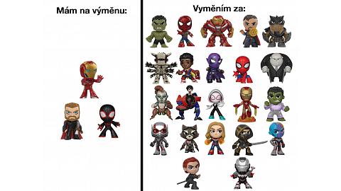 Iron Man, Thor, Miles Morales