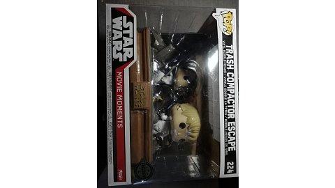 Funko Pop! Star Wars Trash compactor escape(walmart exclusive)