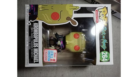 Funko Pop! Rick&Morty Krombopulos Michael (fall convention exclusive)