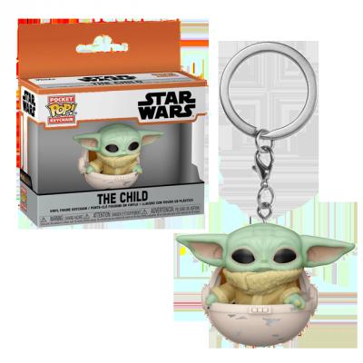 Pocket POP Baby Yoda - přívěsek na klíče
