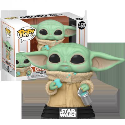 Funko POP Baby Yoda se sušenkou