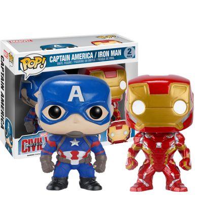 Captain America a Iron Man