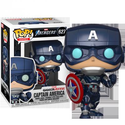Funko POP Captain America - Avengers Game
