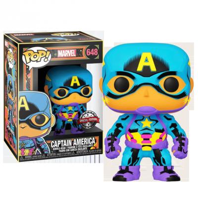 Funko POP Captain America - Black Light