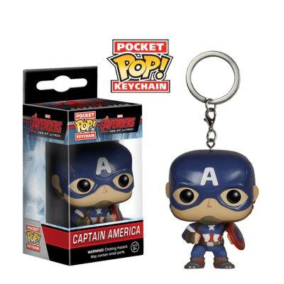 Captain America - přívěsek na klíče