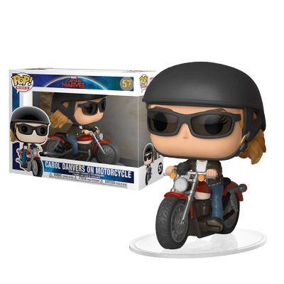 Captain Marvel na motorce