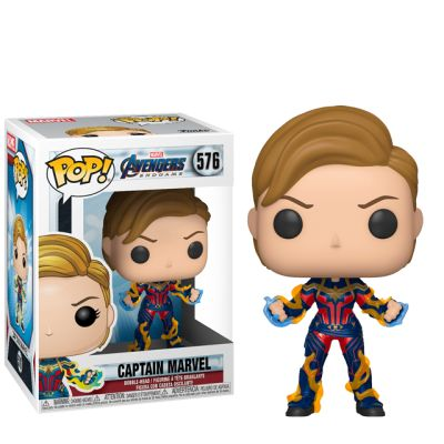 Captain Marvel s blesky - Endgame