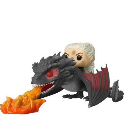 Daenerys and fiery Drogon