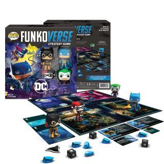 DC Comics Funkoverse - desková hra