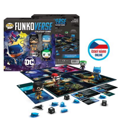 Funko DC Comics Funkoverse - desková hra