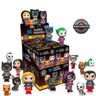 DC Heroes a Mazlíčci - Blindbox GAMESTOP
