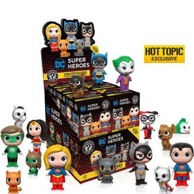 DC Heroes a Mazlíčci - Blindbox HOTTOPIC