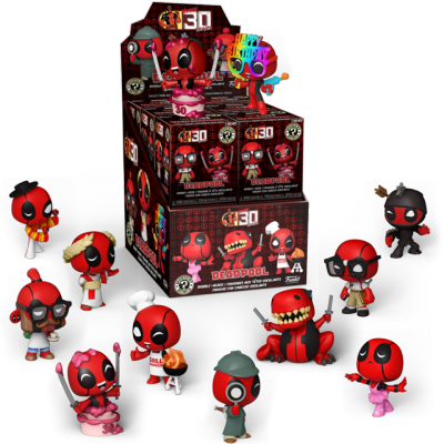 Mystery Minis Deadpool série 2 - Blindbox