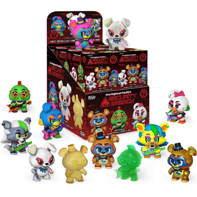Mystery Minis Five Night's at Freddy's Security Breach - Blindbox