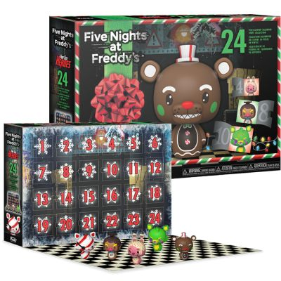 FNAF 2021 advent calendar 24 figures
