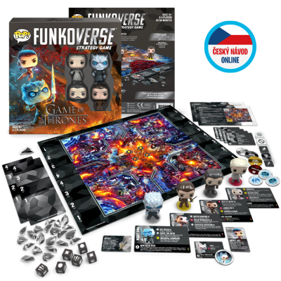 Funko Game of Thrones Funkoverse - Strategy Game