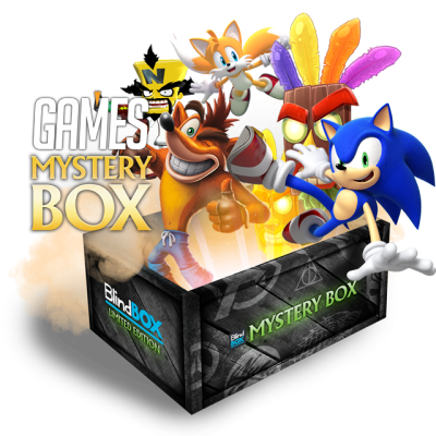Games #2 Crash & Sonic Mystery Box