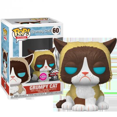 Funko POP Grumpy Cat Flocked