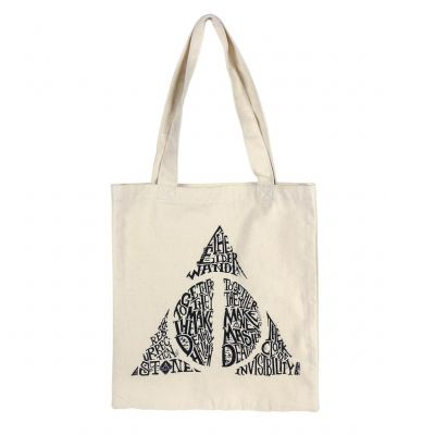 Harry Potter Deathly Hallows Tote Taška