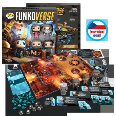 Funko Harry Potter Funkoverse #3 - desková hra