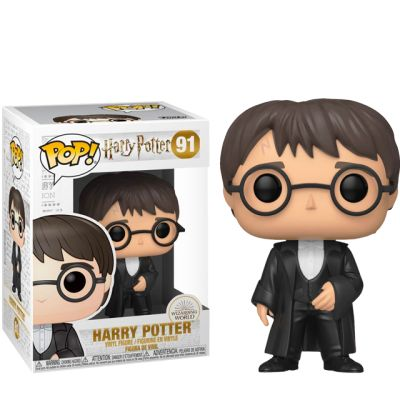 Harry Potter in a suit