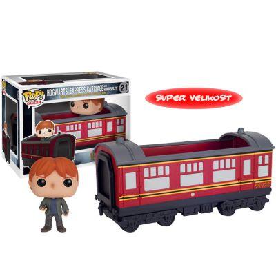 Hogwarts Express vagon s Ronem