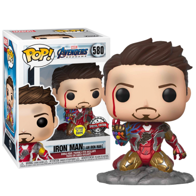 Funko POP I am Iron Man - Endgame