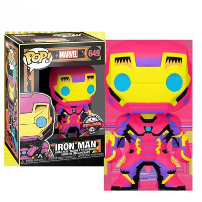 Funko POP Iron Man - Black Light