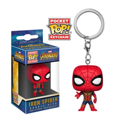 Iron Spider - přívěsek na klíče