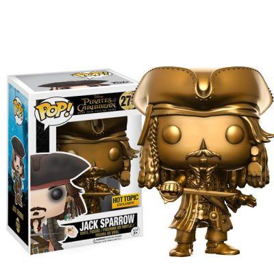 Jack Sparrow GOLD - Piráti z Karibiku