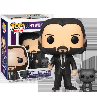Funko POP John Wick se psem