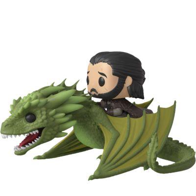 Jon Snow a Rhaegal