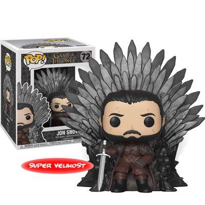 Jon Snow na trůnu