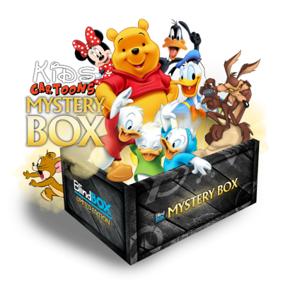 Kids Cartoons #1 - Mystery Box