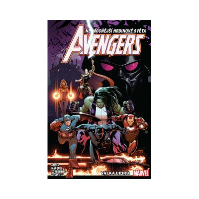 Crew Komiks Avengers 3: Válka upírů