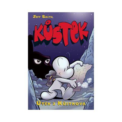 Komiks Kůstek 01: Útěk z Kůstkova (bar. vyd.)