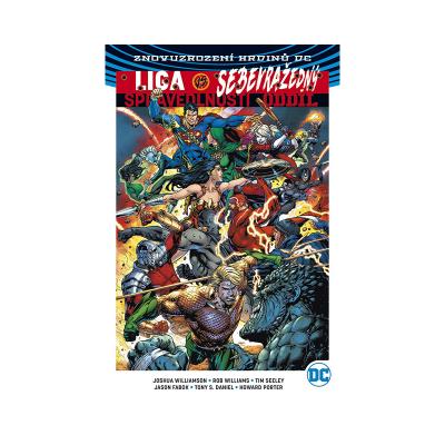Crew Komiks Liga spravedlnosti vs. Sebevražedný oddíl 1
