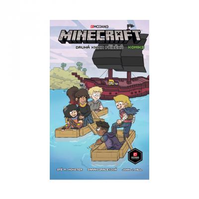 Crew Komiks Minecraft: Druhá kniha příběhů