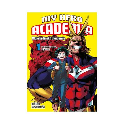 Crew Manga My Hero Academia 1: Izuku Midorija - Počátek
